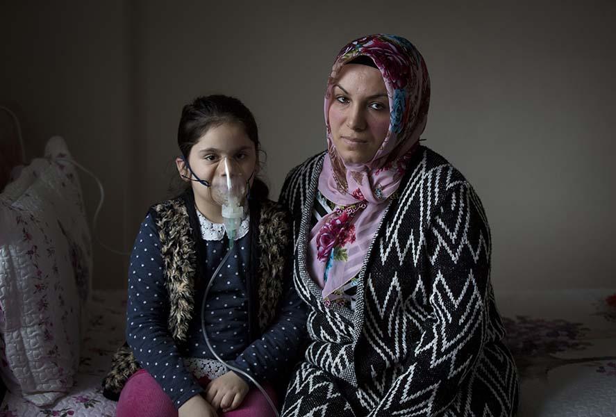 """""""Kirli hava yüzünden astım hastası kızımı sokağa çıkaramıyorum"""""""