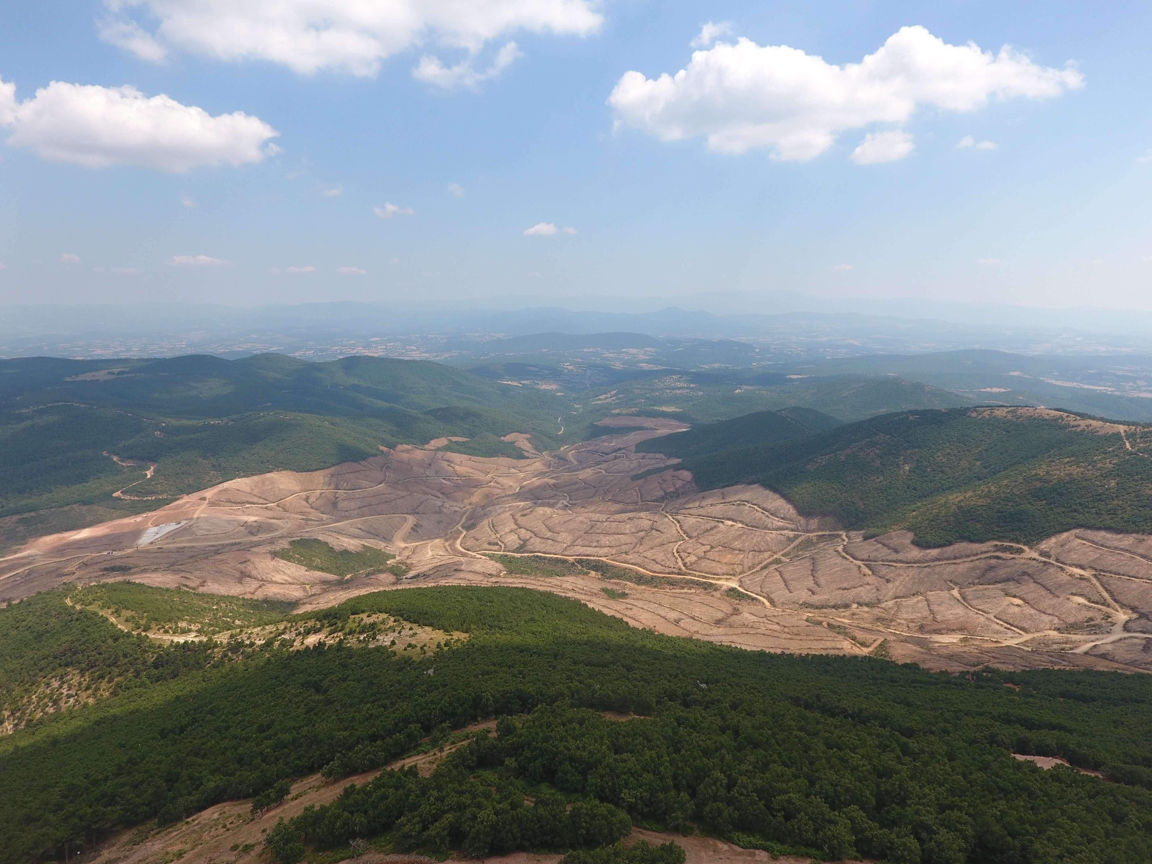 """Ruhsat süresi dolduğu için Kazdağları'ndaki altın arama faaliyeti durdurulan Alamos Gold şirketinden açıklama: """"Yerel halk projeye destek veriyor"""""""