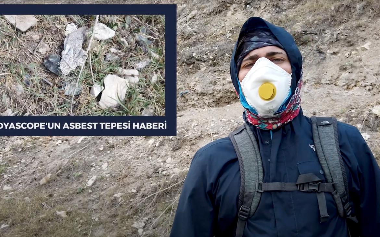 Asbest Tepesi'nde ilk hafta: Medyascope'un haberi sonrası asbestli atıklar için halen önlem alınmadı