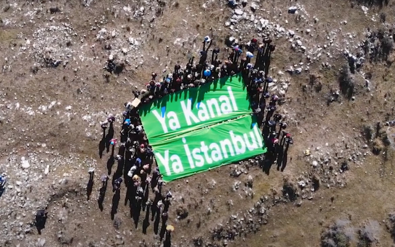 İstanbullular Kanal İstanbul projesinin yok edeceği bölgelerde doğa yürüyüşlerine başladı